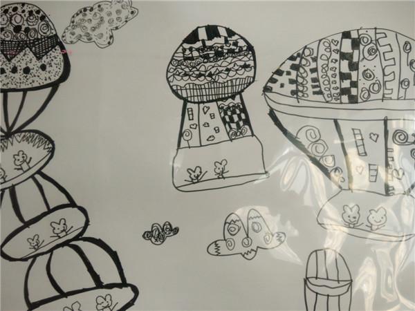 线条之舞--我们设计的热气球(四)